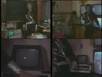 An Commodore PET 2001 computer in the TV-series: Bassie en Adriaan: De Huilende Professor