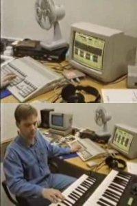 A Commodore Amiga 500 in the TV-show Equinox.