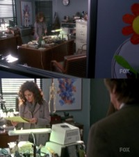 A Commodore PET computer in the TV series Fringe.