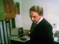 A Commodore PET 2001 computer in the movie Incubo sulla città contaminata.