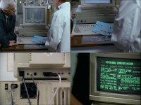 A Commodore Amiga 1500 and a Amiga 2000 in the TV-series Inspector Morse.