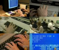 A Commodore PET 2001, SuperPet and Commodore C64 in the TV documentary Marvels - 80s Tech.