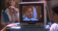 A Commodore 1701 monitor in the movie Natural Born Killers.