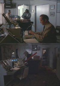 A Commodore VIC-20 in the science-fiction movie The Philadelphia Experiment.