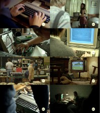 A Commodore C64, PET/CBM, Amiga 500 computer and a 1084 Monitor in the film Underground: The Julian Assange Story.