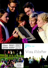 A Commodore C64 on the inlay of the READY CD from Visa Röster.